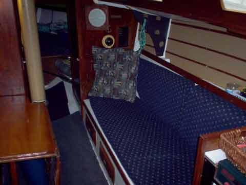 Full Force Diesel >> Santana 30 sailboat for sale