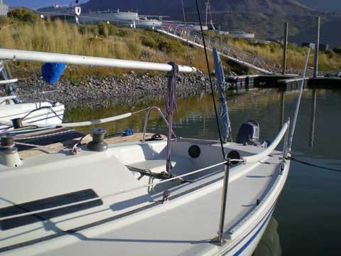 Santana 525 sailboat