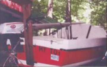 1980 Schwill Ya 16 sailboat
