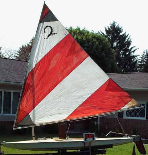 Scorpion sailboat