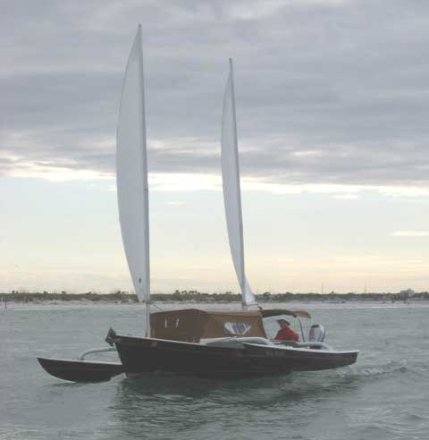 Sea Pearl 21 Trimaran Sailboat For Sale