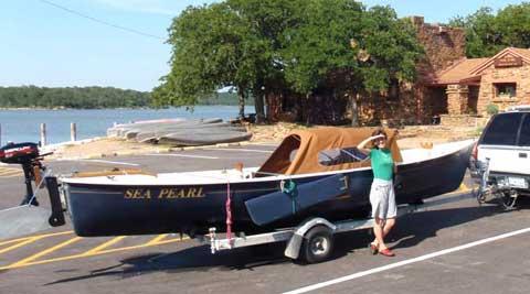 Sea Pearl 21 sailboat
