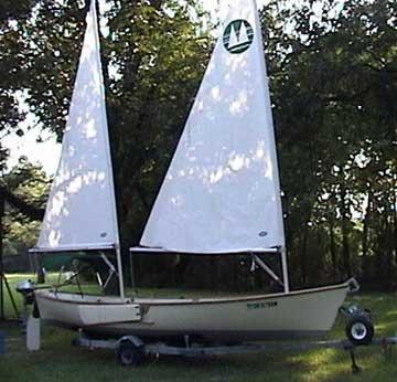 1982 Sea Pearl 21 sailboat