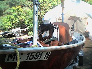1988 Sea Pearl sailboat