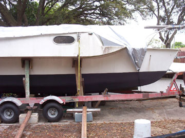 1974 Searunner 25 trimaran