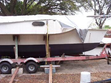 1974 Searunner 25 trimaran