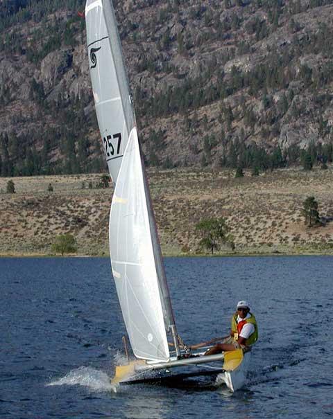 Sea Spray 15 sailboat