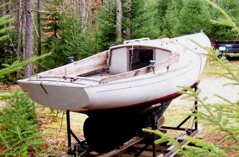 Sea Sprite 23 sailboat