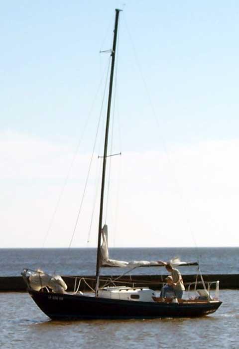Sea Sprite sailboat