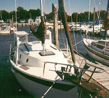 1986 Seaward 22 sailboat