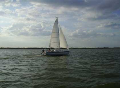 Seaward 23 sailboat