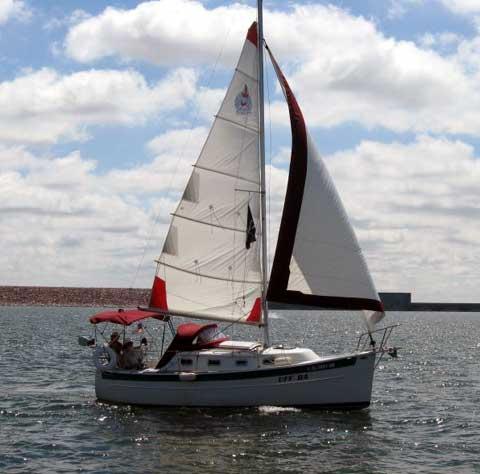 Seaward 25 sailboat