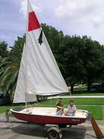 1982 Lockley Seawitch 12 sailboat