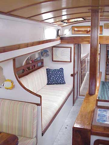1998 Sharpie 40 Ketch sailboat