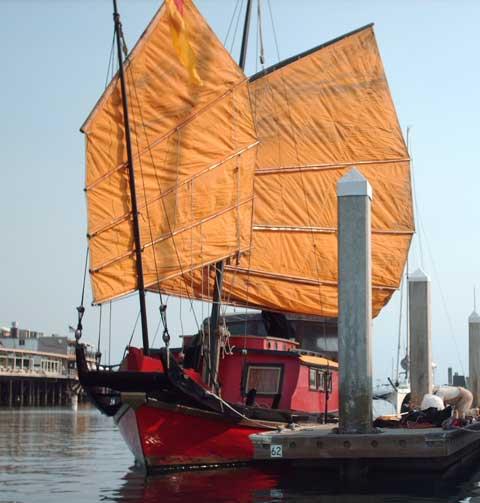 Hong Kong Shingaff 31 sailboat