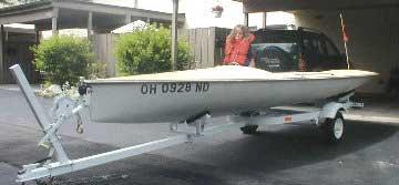 1974 Sidewinder 16 sailboat