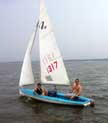 1977 Sidewinder 16 sailboat