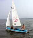 1977 Sidewinder 16 sailboat