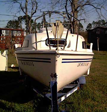 1986 Siren 17 sailboat