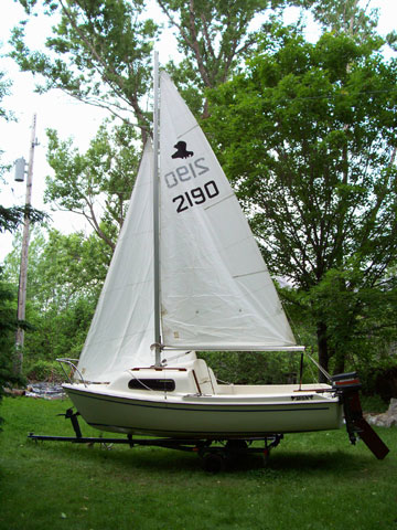 1984 Siren 17 Sailboat For Sale