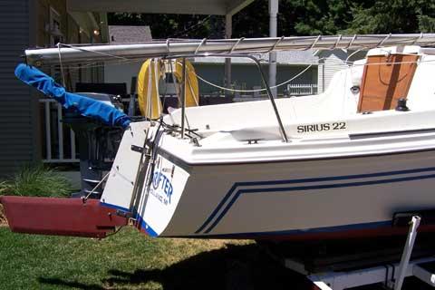 Sirius 22 1986 Holland Michigan Sailboat For Sale