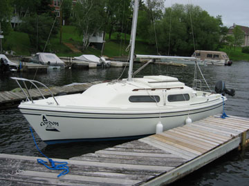 1980 Sirius 21 sailboat