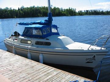1980 Sirius 21 sailboat
