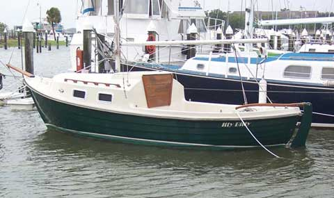 Skipper 20 sailboat