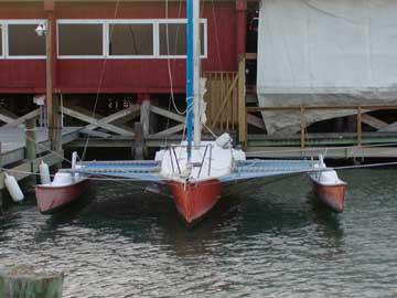 1977 Slipstream 26 Trimaran sailboat