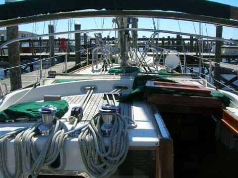 Slocum 43 sailboat