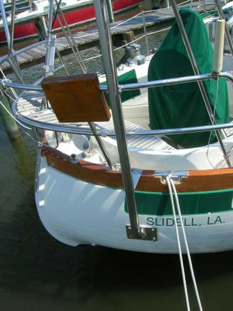 Slocum 43 sailboat