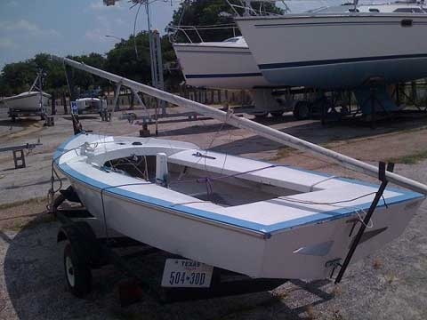 David Luckenbach's Snipe, 15', 1972 sailboat