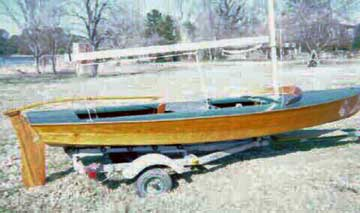 1954 Snipe sailboat