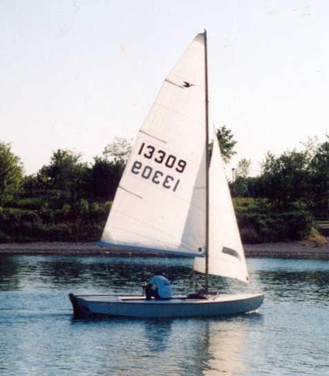 Snipe sailboat