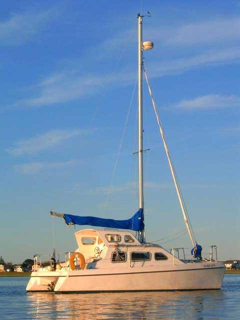 Solaris Sunbeam 24 sailboat