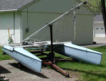 1980 Sol Cat 18 sailboat