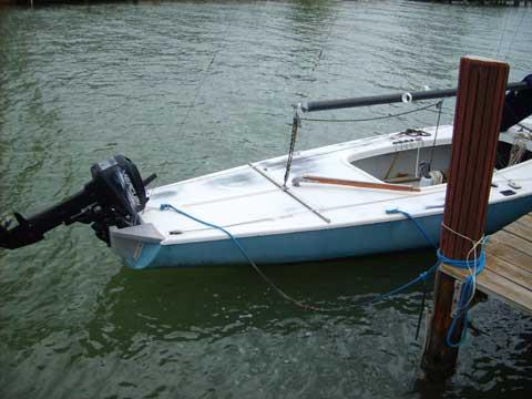 Soling sailing boat