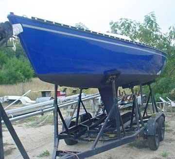 1980 Sonar 23 sailboat