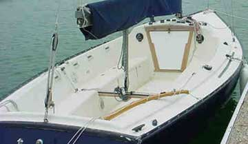 1980 Sonar 23 sailboat