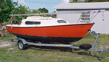 1977 South Coast 22 sailboat
