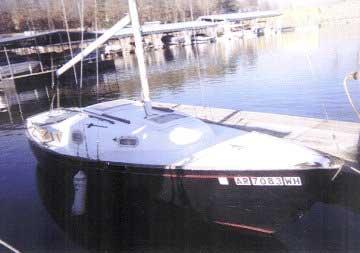 1965 South Coast 23 sailboat