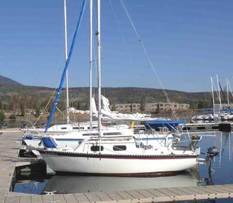 Sovereign 18 sailboat