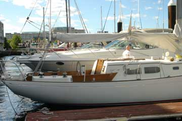 1961 Sparkman Stephens Chris Craft Apache 37 sailboat