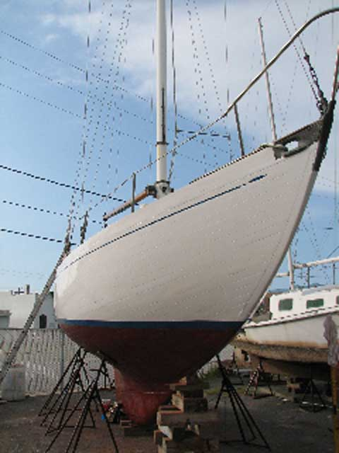 Sparkman and Stephens Loki yawl sailboat