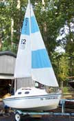 1979 Sparrow 12 sailboat