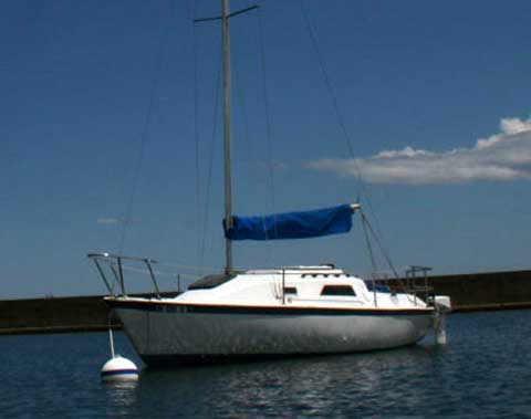Spectrum 22 sailboat