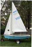 1975 Spindrift 13.5 sailboat