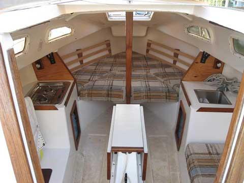 Spindrift 22 sailboat