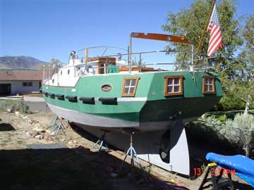 1983 Spray 36 sailboat