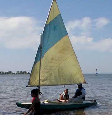 1965 Starfish sailboat